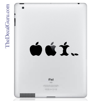 Edible Apple iPad Decal