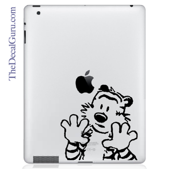 Hobbes no Calvin iPad Decal