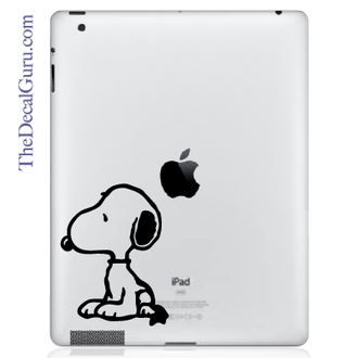 Snoopy iPad Decal sticker