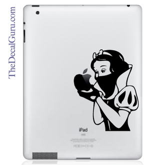 Snow White Revenge iPad Decal sticker