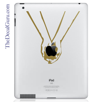 Twilight Hands iPad Decal