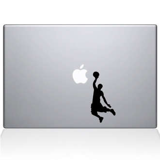 Slam Dunk Macbook Decal Sticker Black