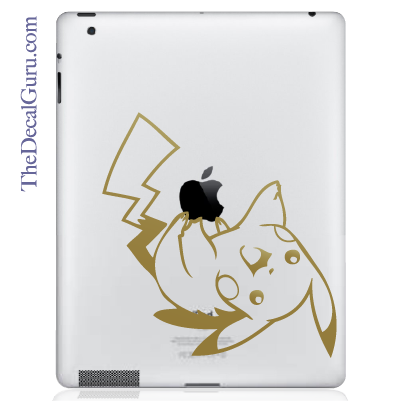 Pikachu Pokemon iPad Decal