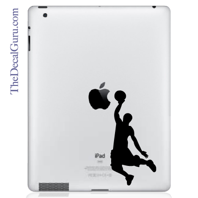 Slam Dunk iPad Decal