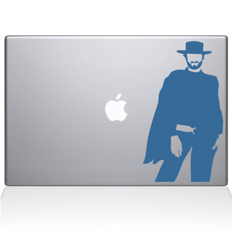 Clint Eastwood Macbook Decal Sticker Black