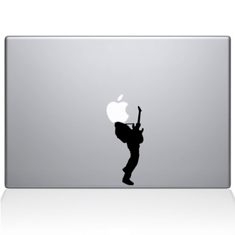 Guitar Hero Macbook Decal Sticker Black