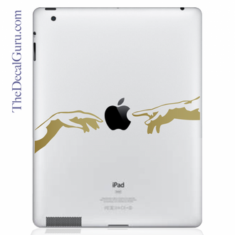 Creation of Apple iPad Decal