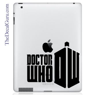 Doctor Who iPad Decal