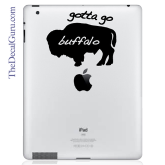 Gotta Go Buffalo iPad Decal