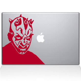 Darth Maul Macbook Decal Sticker Red