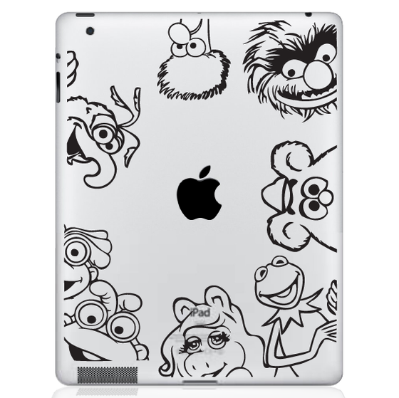 Muppets iPad Decal sticker