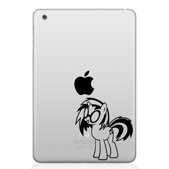 My Little Pony Goth IPad Decal Sticker