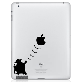 Yoda Wars iPad Decal sticker