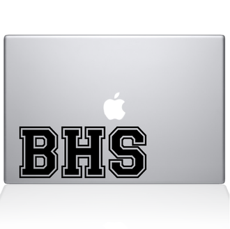 School Letters Macbook Decal Sticker