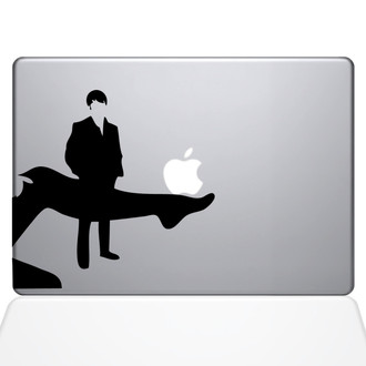 Ooh La La Macbook Decal Sticker Black