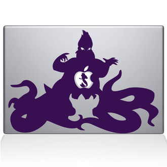 Little Mermaid Ursula Macbook Decal Sticker