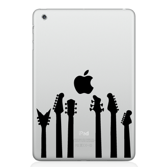 Guitar Band iPad Decal
