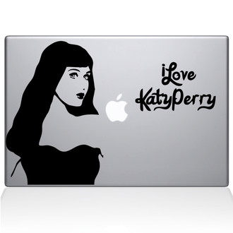 Katy Perry Macbook Decal Sticker Black