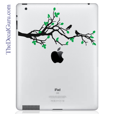 Birds on a Branch iPad Decal