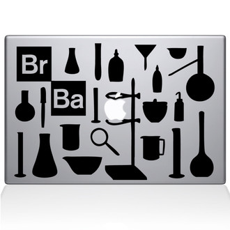 Breaking Bad Chemistry 101 Macbook Decal Sticker Black