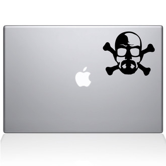 Breaking Bad Crossbones Macbook Decal Sticker Black