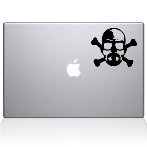 Breaking Bad CrossBones | Macbook Decals | The Decal Guru