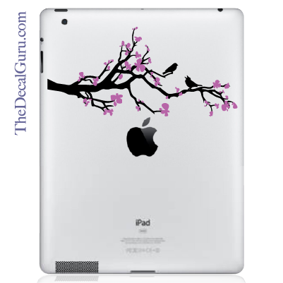 Cherry Blossom Branch iPad Decal