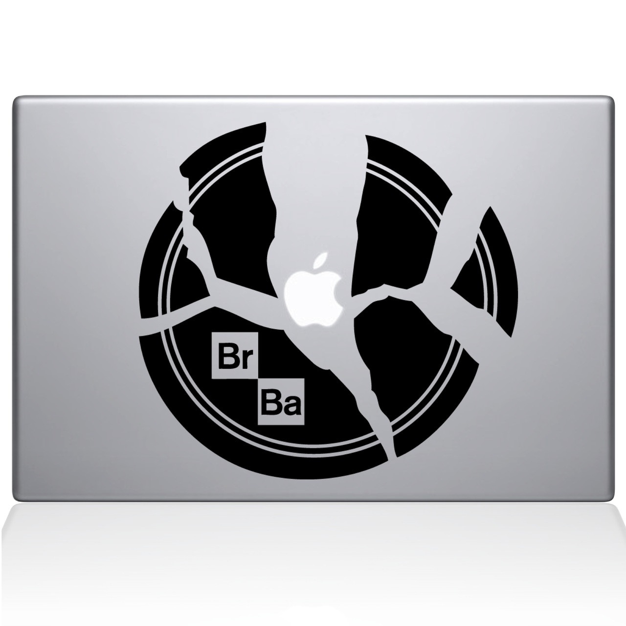 Breaking Bad Plate | Macbook Decals | The Decal Guru