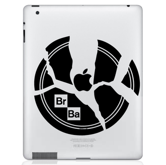 Breaking Bad Plate iPad