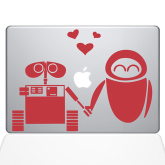Wall-E Macbook Decal Sticker Silver