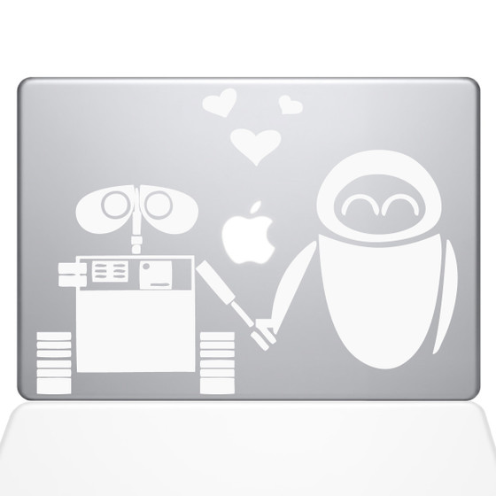 Walle and Eve macbook decal sticker