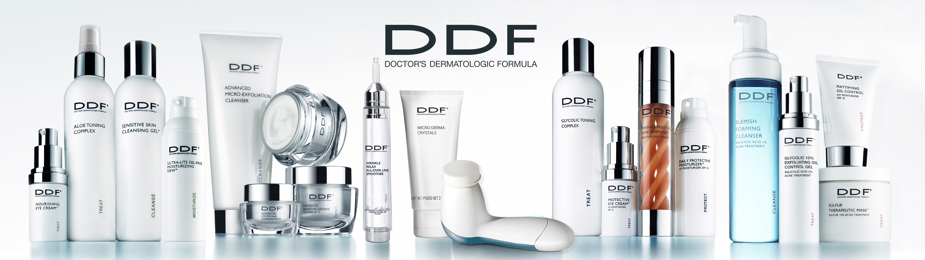 Ddf facial products
