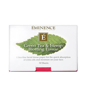 Eminence Green Tea & Hemp Blotting Tissue (30 sheets)