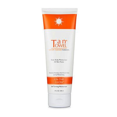 Tan Towel On The Glow Body