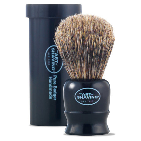 The Art of Shaving Black Travel Brush