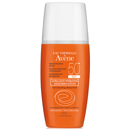 Avene Ultra-Light Hydrating Sunscreen Lotion SPF 50+ Face