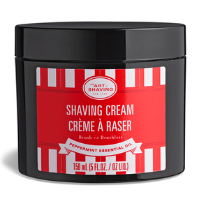 The Art of Shaving Cream Jar - Peppermint