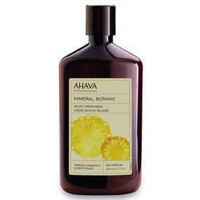 AHAVA Mineral Botanic Cream Wash Pineapple & Peach