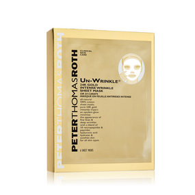 Peter Thomas Roth Un-Wrinkle® 24K Gold Intense Sheet Mask