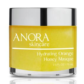 Anora Skincare Hydrating Orange Honey Masque - Front