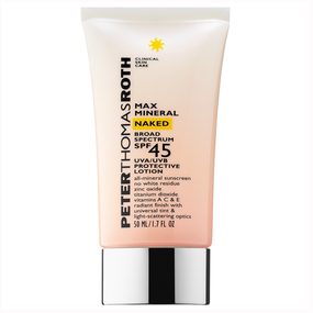 Peter Thomas Roth Max Mineral Naked SPF 45 Protective Lotion