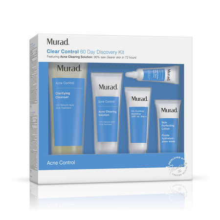 Murad Clear Control 60 Day Discovery Kit