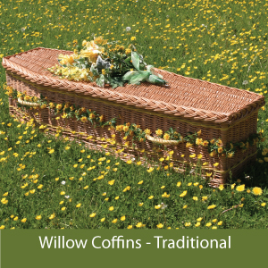 Somerset Willow Woven Coffins