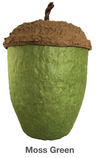 Moss Green Acorn Urn