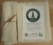 Natural Burial Company's Organic Cotton Shroud