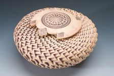 Turtle Vessel - White Clay CALL FOR AVAILABILITY  4 x 7 - SMALL/ KEEPSAKE SIZE $375.00