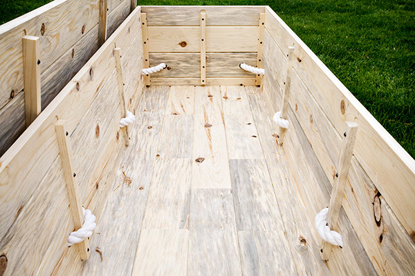 The Plain Pine Box Casket Kit - Natural Burial Company