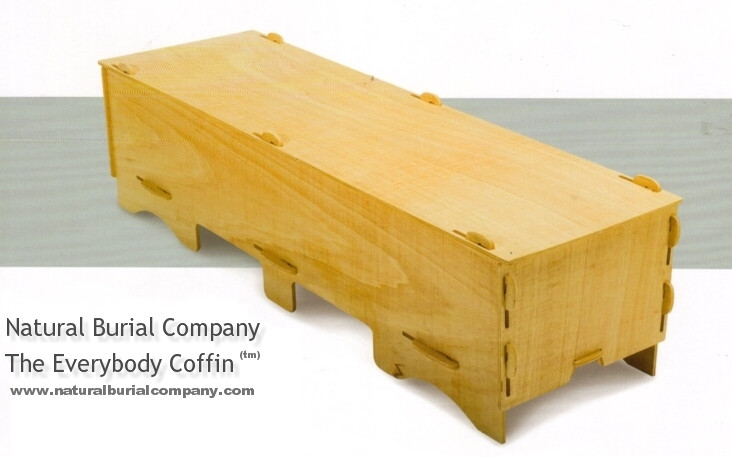 flat packed everybody coffin kit