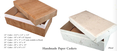 Two covering styles - pressed-flower paper (Floral) or mulberry-bark (Bark)