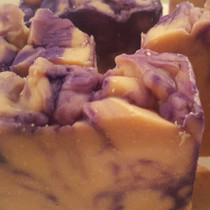 Black Amber & Lavender Goats Milk Soap
